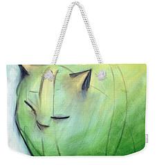 We Dream In Green 1 Weekender Tote Bag