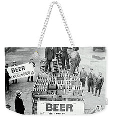 We Have Beer - Prohibition Ends - Cleveland 1933 Weekender Tote Bag
