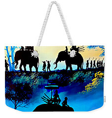 We March At Sunrise  Weekender Tote Bag