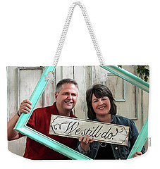 We Still Do - Special Commission Weekender Tote Bag by Jordan Blackstone