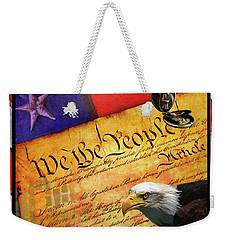 We The People Weekender Tote Bag