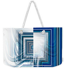 Weak And Strong Weekender Tote Bag by Thibault Toussaint