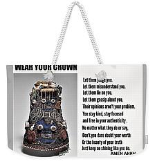 Wear Your Crown Weekender Tote Bag