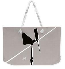 Weather Vane Weekender Tote Bag by Linda Hollis