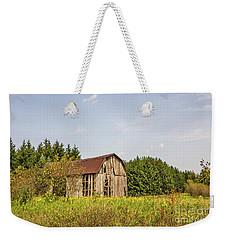 Weathered Barn Basking In The Summer Sun Weekender Tote Bag