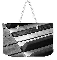 Weathered Music Weekender Tote Bag