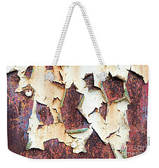 Weekender Tote Bag featuring the photograph Weathered N Rustic by Tim Gainey
