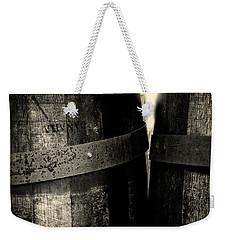 Weathered Old Apple Barrels Weekender Tote Bag by Bob Orsillo