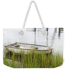 Weathered Old Skiff - The Outer Banks Of North Carolina Weekender Tote Bag