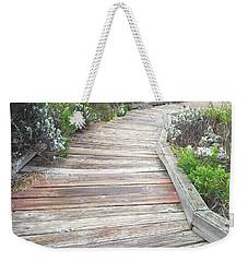 Weathered Path Weekender Tote Bag