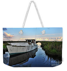 Weathered Reflection Weekender Tote Bag