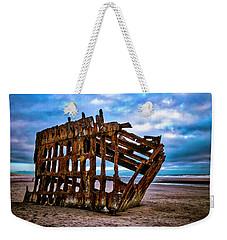 Weathered Shipwreck Weekender Tote Bag
