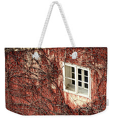 Weathered View Weekender Tote Bag