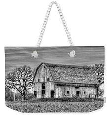 Weathered Wood Of Iowa Weekender Tote Bag