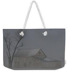Weathering The Blizzard Weekender Tote Bag