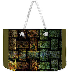 Weave A Might Stone Weekender Tote Bag
