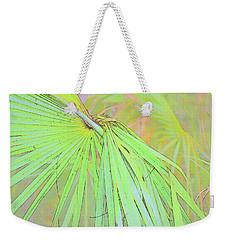Weave Me A Palm Weekender Tote Bag