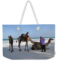 Wedding Camels In The Waiting ... Weekender Tote Bag