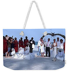 Wedding Complete Panoramic Kenya Beach Weekender Tote Bag