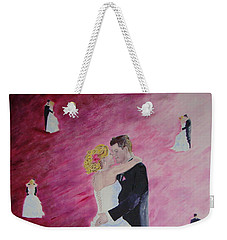 Wedding Dance Weekender Tote Bag