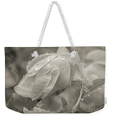 Weekender Tote Bag featuring the photograph Wedding Day Bliss by Rachel Cohen