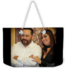 Wedding Felipe And Jen Weekender Tote Bag