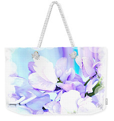 Wedding Flower Pedals Weekender Tote Bag
