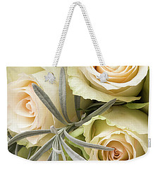 Wedding Flowers Weekender Tote Bag by Wim Lanclus