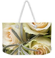 Wedding Flowers Weekender Tote Bag