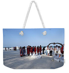 Wedding In The Afternoon Shadow Weekender Tote Bag