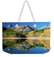 Wedge Pond Color Weekender Tote Bag
