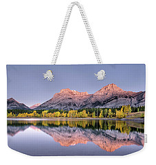 Wedge Pond Fall Weekender Tote Bag