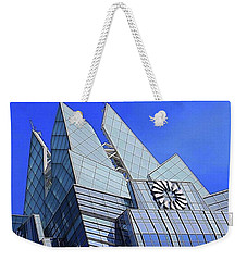 Wednesday Afternoon #architectureporn Weekender Tote Bag by Austin Tuxedo Cat