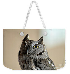 Wee Western Screech Owl Weekender Tote Bag