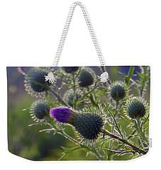 Weed Flower 1 0f 5 Weekender Tote Bag