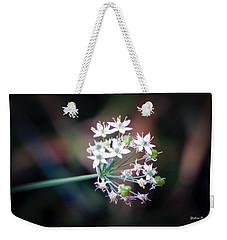 Weed Flower Weekender Tote Bag