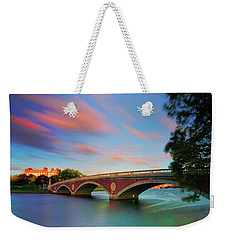 Weeks' Bridge Weekender Tote Bag by Rick Berk
