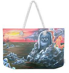Weep For Gaia Weekender Tote Bag