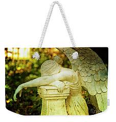 Weeping Angel Weekender Tote Bag
