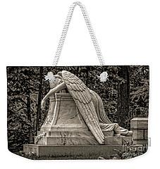 Weeping Angel - Sepia Weekender Tote Bag