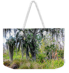 Weekender Tote Bag featuring the photograph Weeping Willow by Madeline Ellis