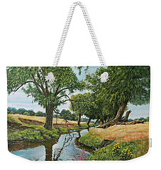 Weeping Willows At Beverley Brook Weekender Tote Bag