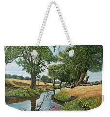 Weeping Willows At Beverley Brook Weekender Tote Bag