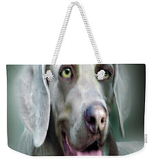 Weimaraner Rusty  Portrait  Weekender Tote Bag