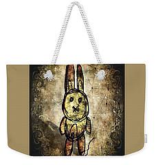 Weird Bun Weekender Tote Bag
