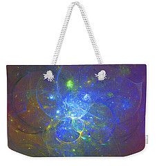 Weekender Tote Bag featuring the digital art Weird Tales by Jeff Iverson