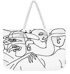 Weirdness 2 Weekender Tote Bag