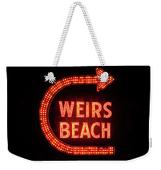 Weirs Beach Icon Weekender Tote Bag