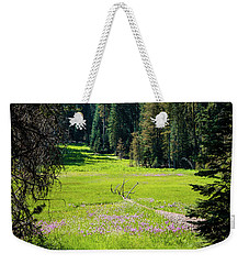 Weekender Tote Bag featuring the photograph Welcom To Life- by JD Mims