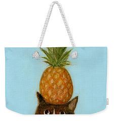Welcome Cat Weekender Tote Bag